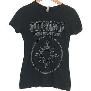 Godsmack Womens T-Shirt M Black 1000 HP 2014 Tour